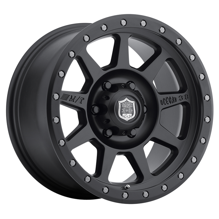 M/T Wheels Deegan 38 Pro 4 Satin Black