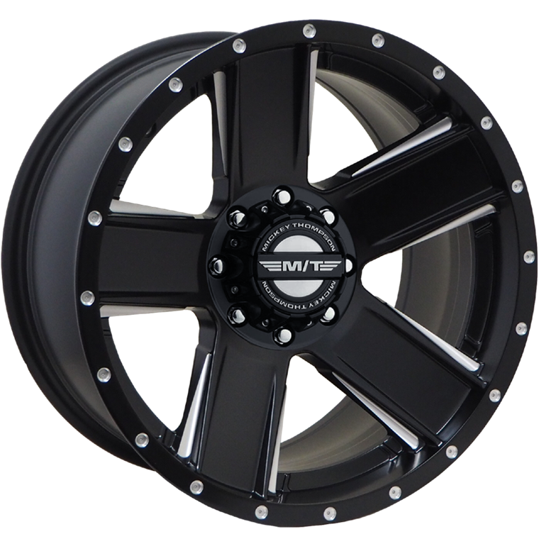 M/T Wheels SD-5 Satin Black