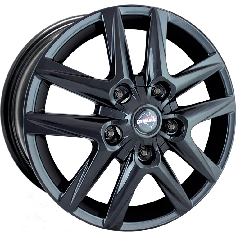 Dynamic Alloy Altitude Gloss Black