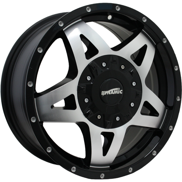 Dynamic Alloy DT2 Gloss Black Machined
