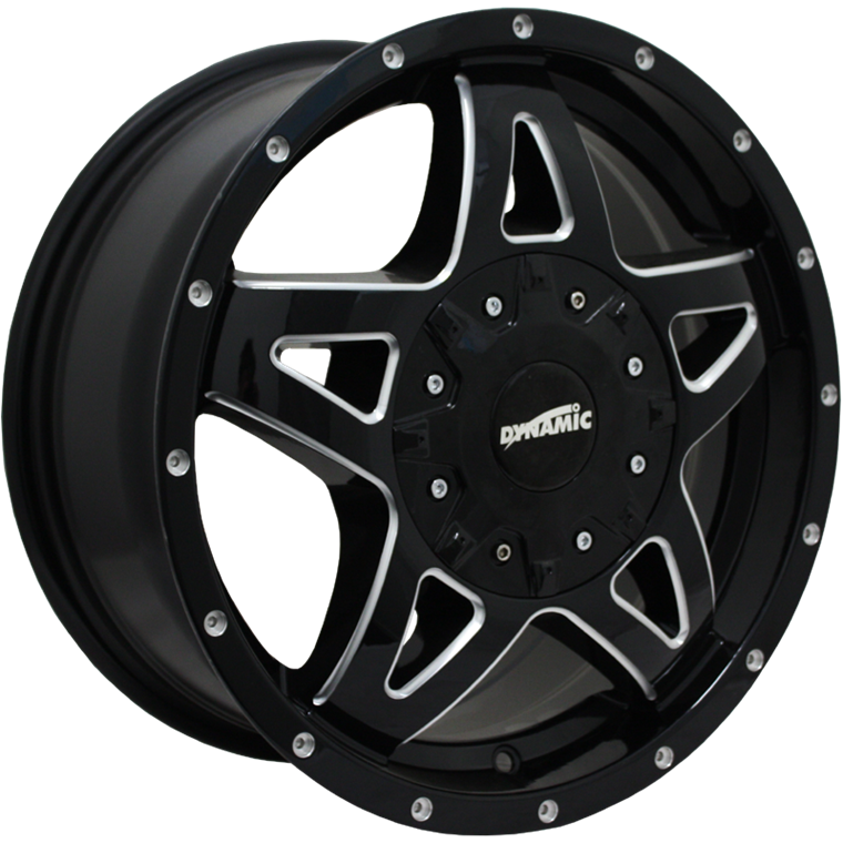 Dynamic Alloy DT2 Gloss Black Milled