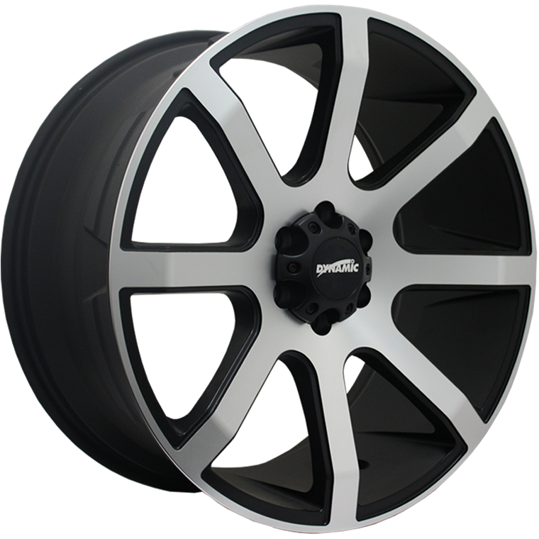 Dynamic Alloy DT8 Gloss Black Machined