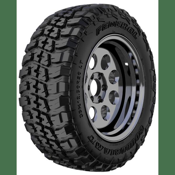 FEDERAL TYRES COURAGIA M/T & Dynamic Steel Imitation Beadlock Black