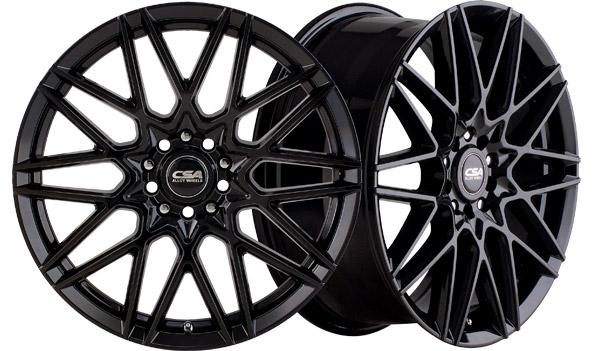CSA Wheels Hotwire Gloss Black