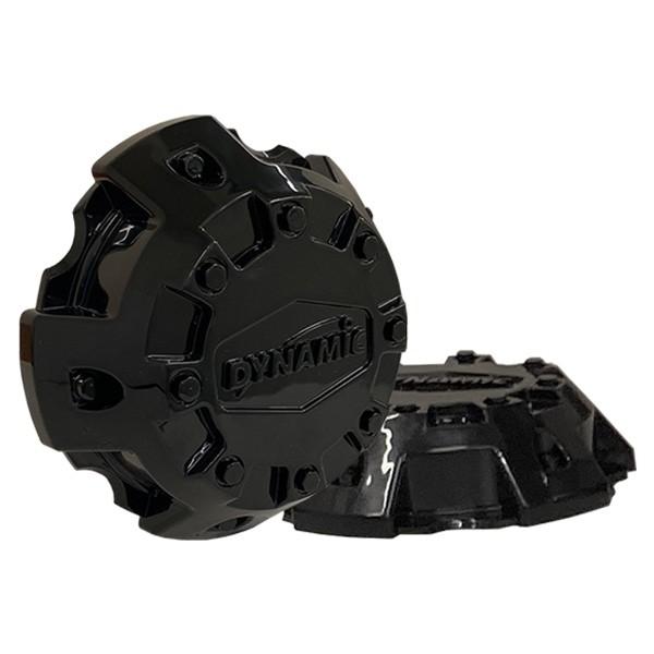 6x139.7 Steel Wheel Cap Gloss Black (ID 38mm) 48mm SHORT