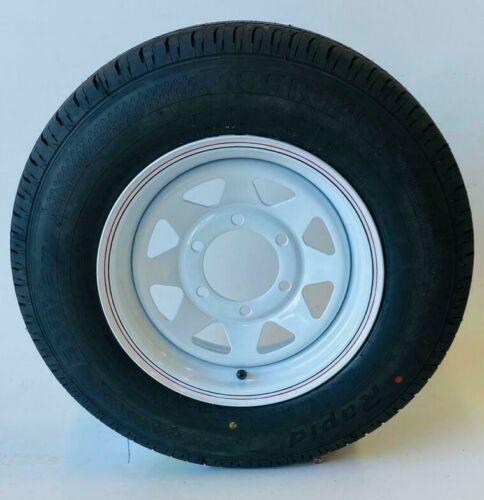 185R14C LT Tyres With  White Steel Wheel For Trailer & Caravan
